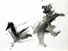 Sans Titre (2006) : Encre sur Papier   30 x 40 cm.