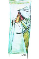 Sans Titre (2006) : technique mixte sur Papier   40 x 30 cm.