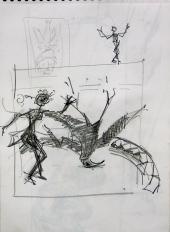 Sans Titre (2007) : Crayon sur Papier   40 x 30 cm.
