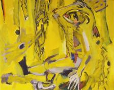 Sans Titre (2012) : Acrylique sur Toile   73 x 93 cm.