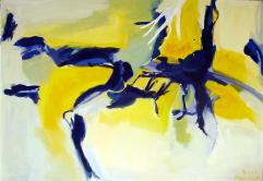 L'Après-Midi d'un Faune (2012) : Acrylique sur Toile   81 x 116 cm.