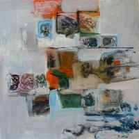 Photomaton 13 (2012) : technique mixte sur Papier   50 x 50 cm.