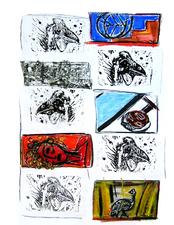Sans Titre (2004) : technique mixte sur Papier   50 x 65 cm.