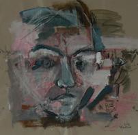 Sans Titre (2013) : technique mixte sur Papier   95 x 100 cm.