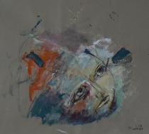 Sans Titre (2013) : technique mixte sur Papier   89 x 100 cm.