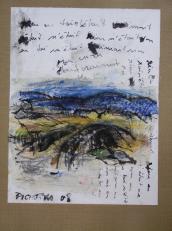 Et pourtant (2008) : technique mixte sur Papier   32 x 25 cm.