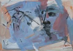 Messager (2007) : technique mixte sur Papier   42 x 60 cm.
