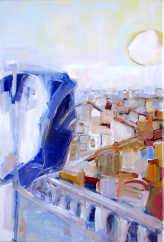 Matin (2008) : Huile sur Toile   55 x 38 cm.