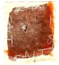 Salt (2009) : technique mixte sur Papier   13 x 12 cm.