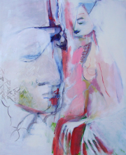 Sans Titre (2009) : Acrylique sur Toile   115 x 95 cm.