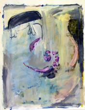 Lakchmi (2010) : technique mixte sur Papier   65 x 50 cm.