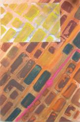 Stadtrot (2000) : technique mixte sur Papier   50 x 33 cm.