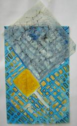 Morgenliebe (2000) : technique mixte sur Papier   63 x 39 cm.