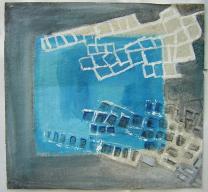 Mars (2000) : Acrylique sur Papier   53 x 57 cm.