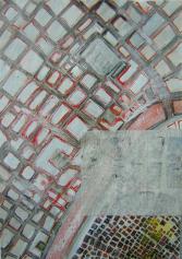 Schnee (2000) : technique mixte sur Papier   62 x 45 cm.