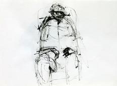 Sans Titre (1994) : Encre sur Papier   30 x 41 cm.
