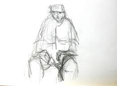 Sans Titre (1994) : Crayon sur Papier   30 x 41 cm.