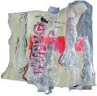 Morning song (2005) : technique mixte sur Papier   38 x 37 cm.