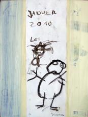 Sans titre (2010) : Encre sur Papier   32 x 24 cm.