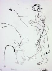Anesse (2010) : Encre sur Papier   32 x 24 cm.